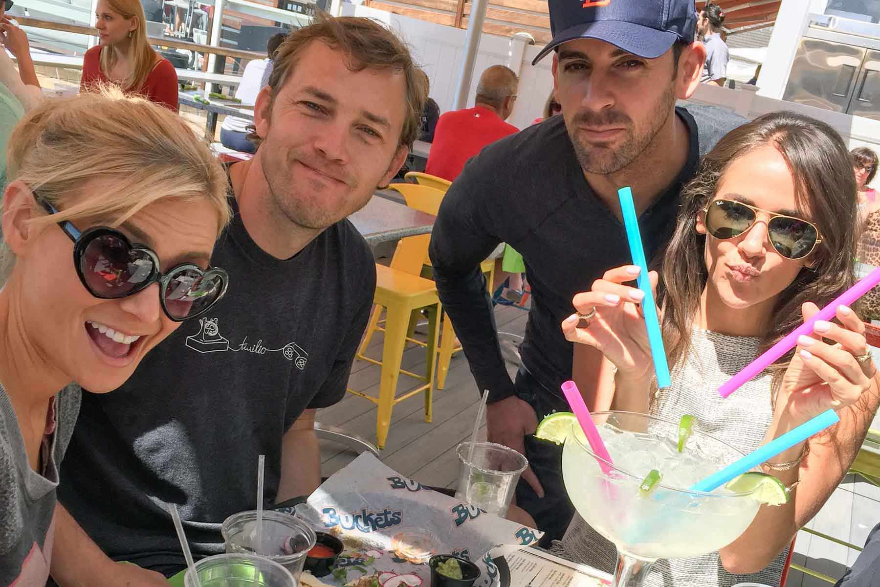 Group of Four at Stone Harbor's Mexican Restaurant